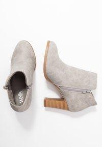 Wallis - ALUNA - Boots à talons - grey - 3