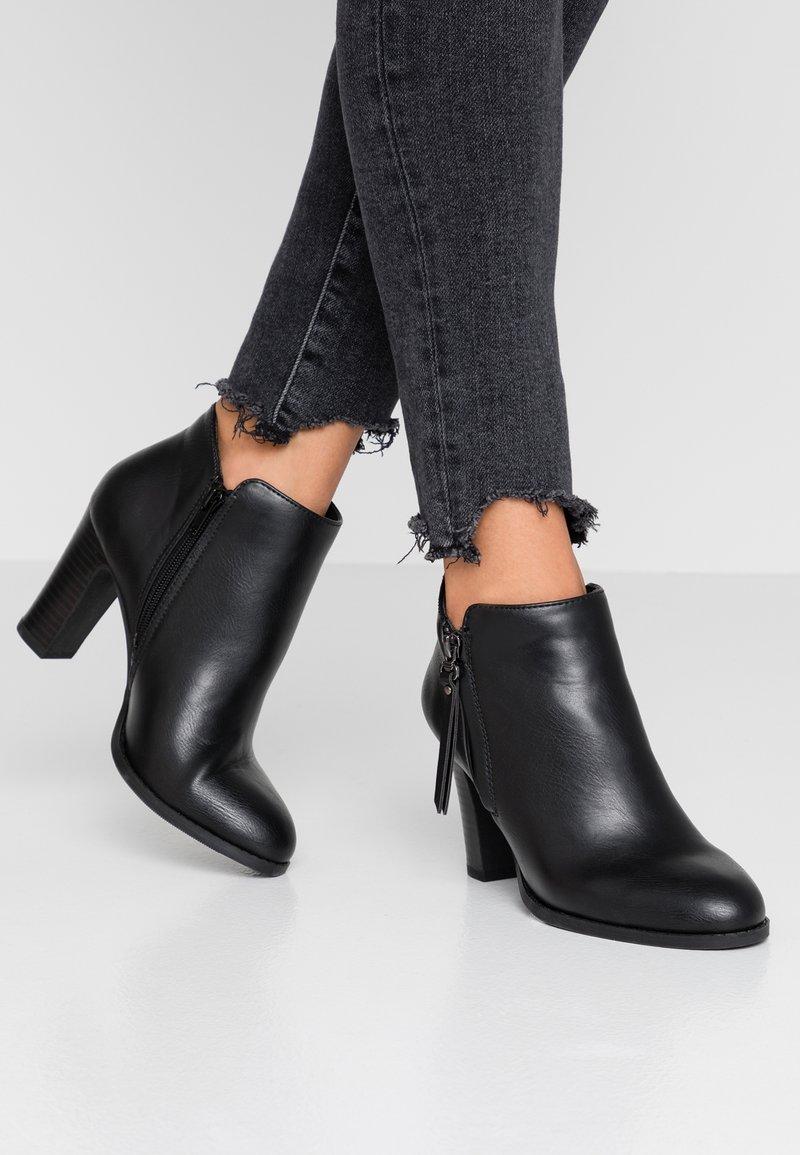 Wallis - ALUNA - Boots à talons - black