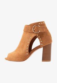 Wallis - SHERLOCK - High heeled ankle boots - tan - 1