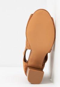 Wallis - SHERLOCK - High heeled ankle boots - tan - 6