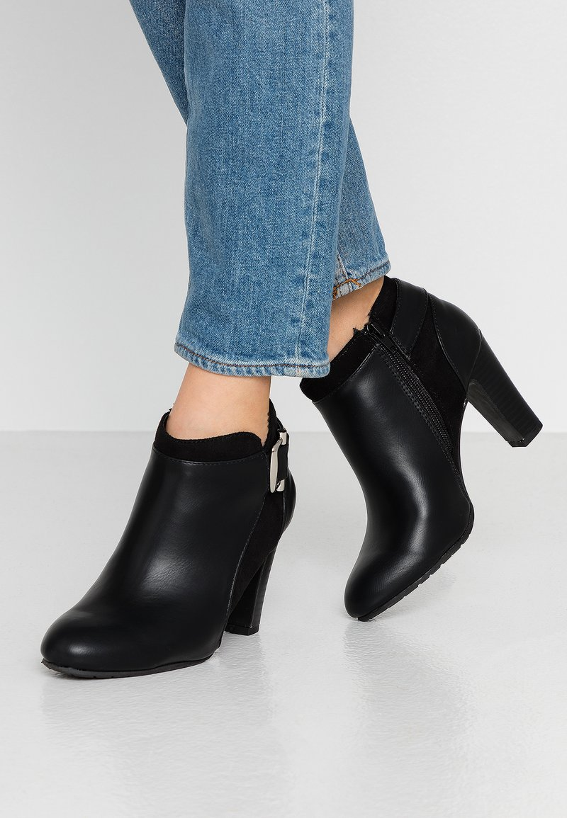 Wallis - ANNA - Bottines à talons hauts - black