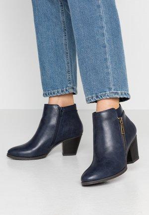 ARABELLA - Boots à talons - navy