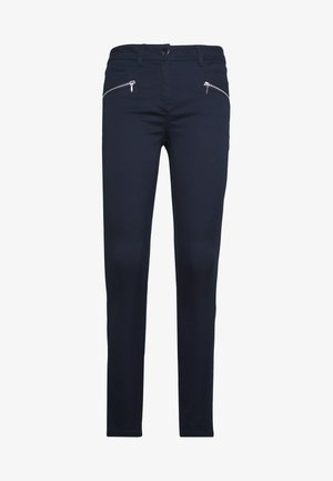 ZIP TINSELTOWN TROUSER - Broek - navy