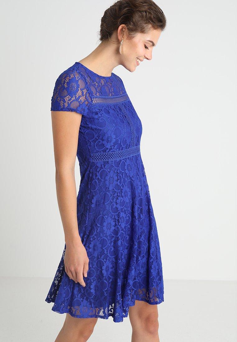 Wallis - CAP SLEEVE DRESS - Cocktailkleid/festliches Kleid - royal blue