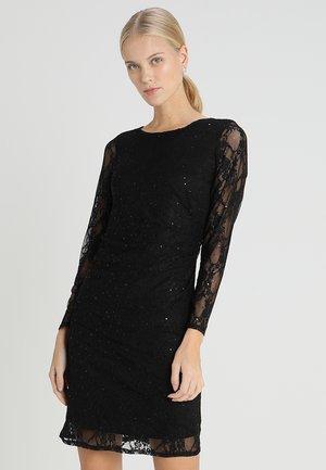 SEQUIN SHIFT DRESS - Cocktailkjole - black