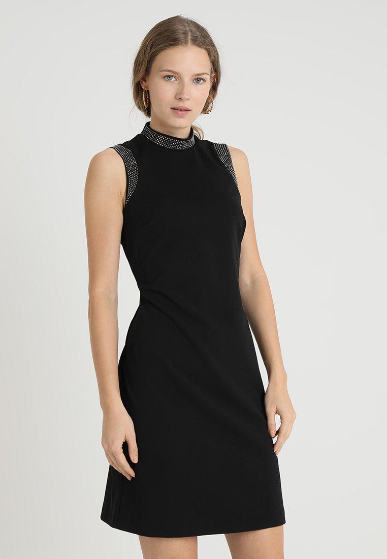 Wallis - HOTFIX COLLAR SHIFT - Vestido ligero - black