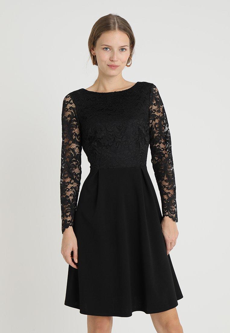 Wallis - PLEAT - Cocktailkleid/festliches Kleid - black