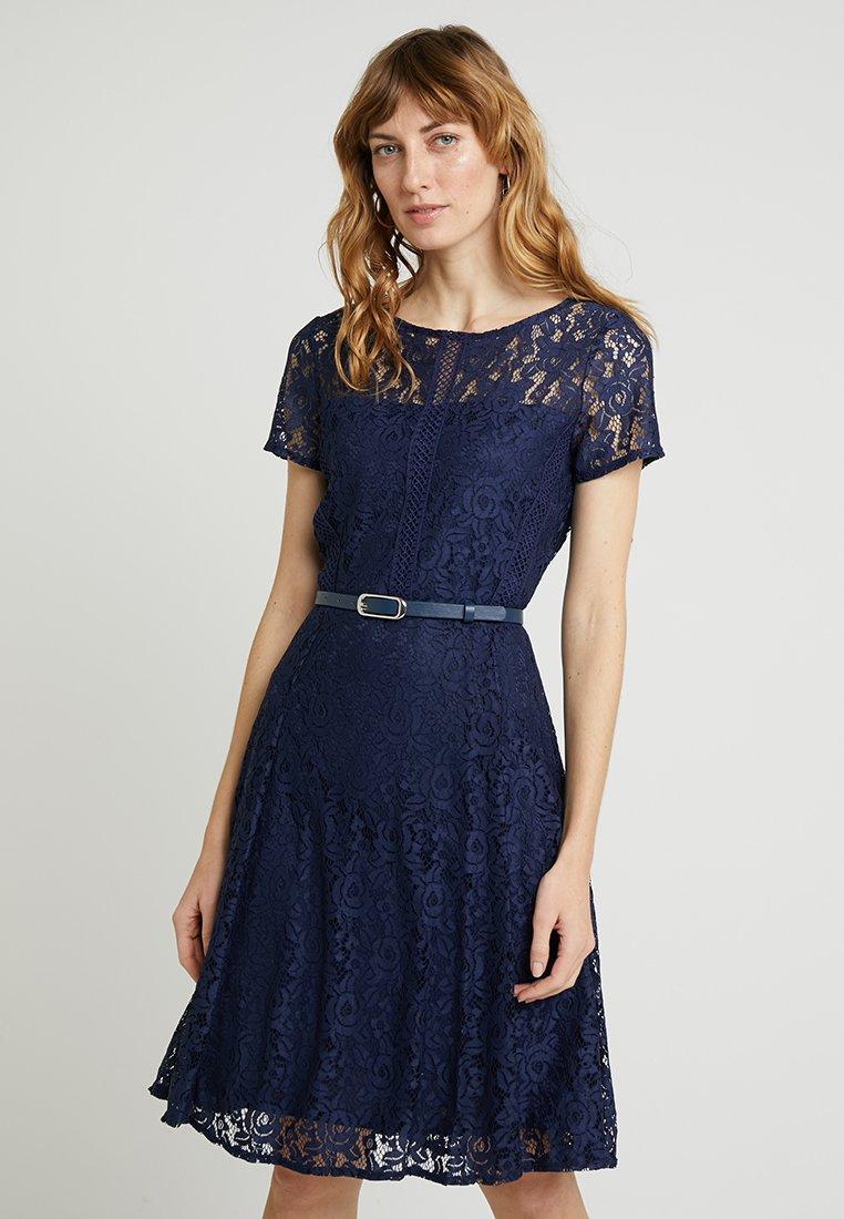 Wallis - BELTED - Cocktailkleid/festliches Kleid - ink