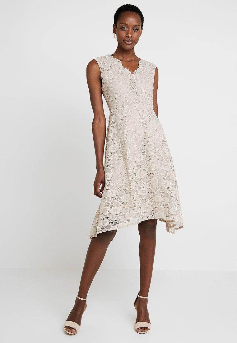 Wallis - HANKY DRESS - Cocktail dress / Party dress - taupe