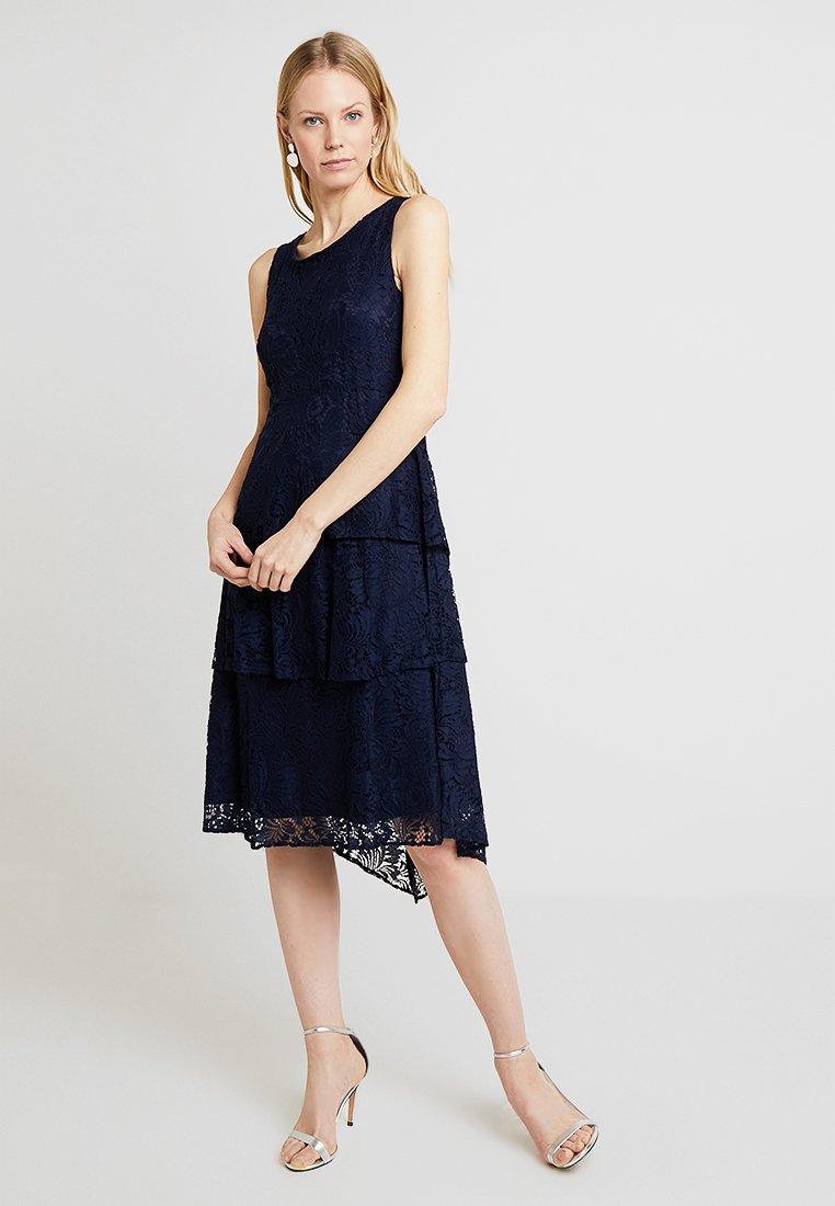 Wallis - TIERED DRESS - Cocktail dress / Party dress - ink