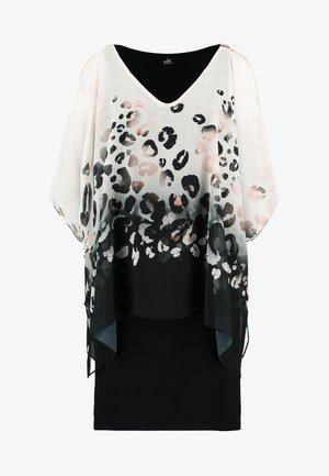 SPRING ANIMAL - Jerseyklänning - black
