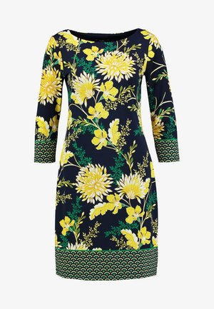 LEMON ORIENTAL DRESS - Korte jurk - dark blue
