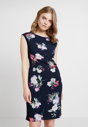 BLOSSOM RUCH SIDE DRESS - Robe de soirée - dark blue