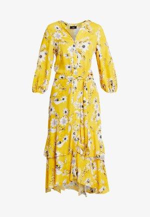 DAISY PRINT  DRESS - Vestito lungo - yellow