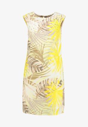 Korte jurk - lemon