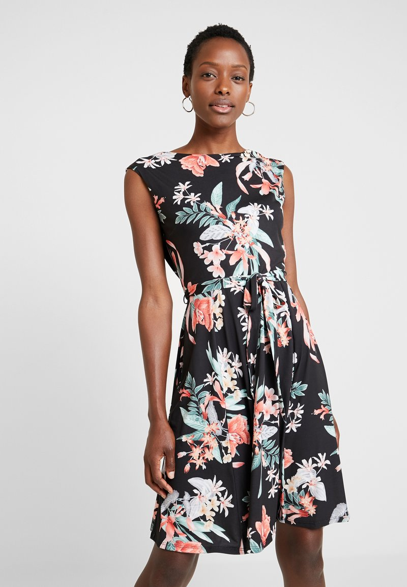 Wallis - BOTANICAL - Korte jurk - anthracite