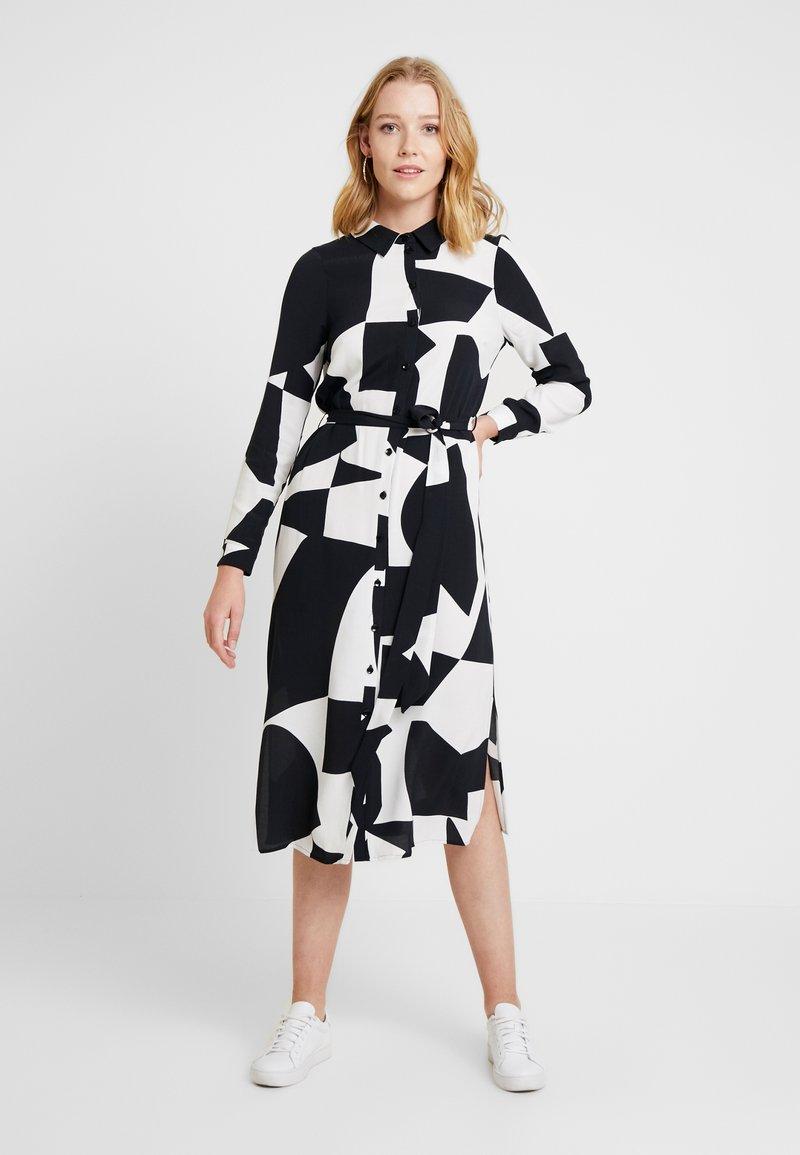 Wallis - BLOCK DRESS - Blusenkleid - mono