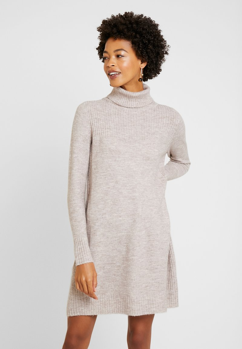 Wallis - COMPACT DRESS - Jumper dress - stone