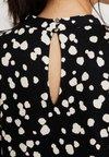 Wallis - ABSTRACT SPOT SWING DRESS - Jersey dress - black