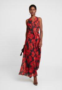 Wallis - ROSE DRESS - Maxi dress - black - 1