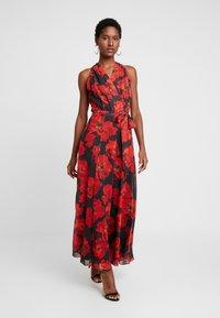 Wallis - ROSE DRESS - Maxi dress - black - 0
