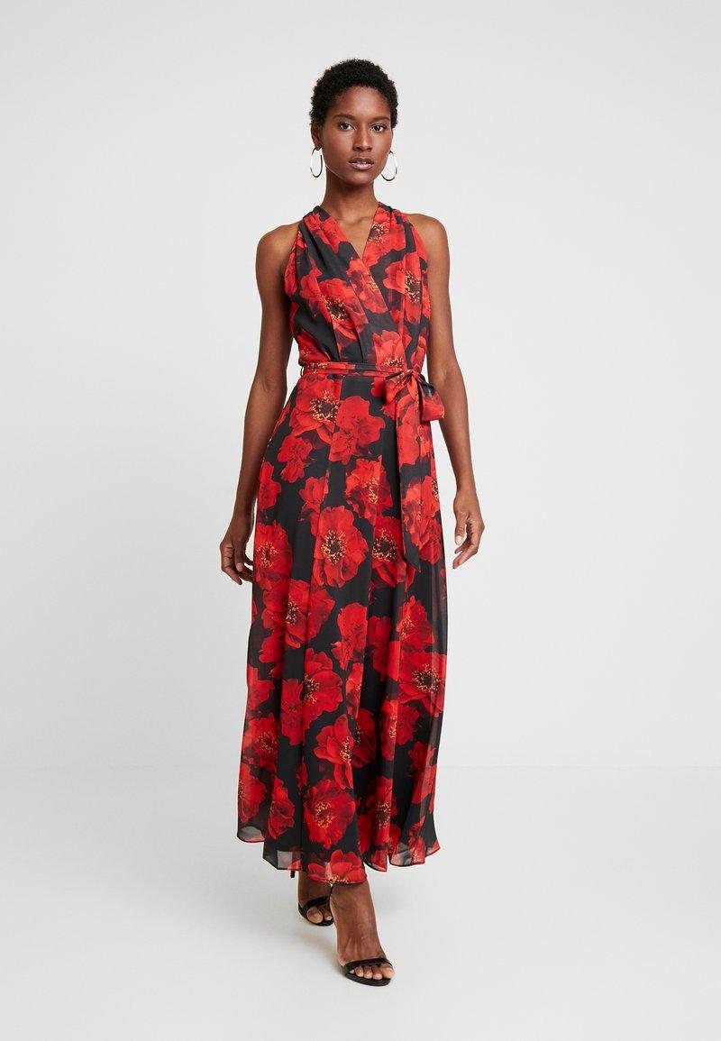 Wallis - ROSE DRESS - Maxi dress - black