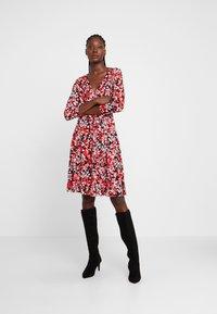 Wallis - Day dress - red - 0