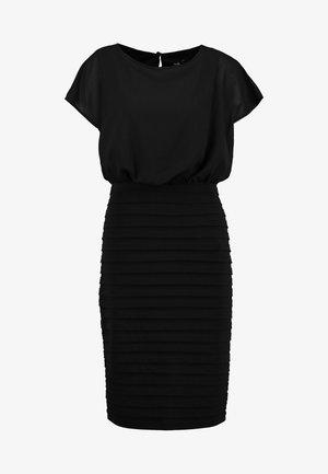 BLOUSON SHUTTER DRESS - Cocktailkjole - black