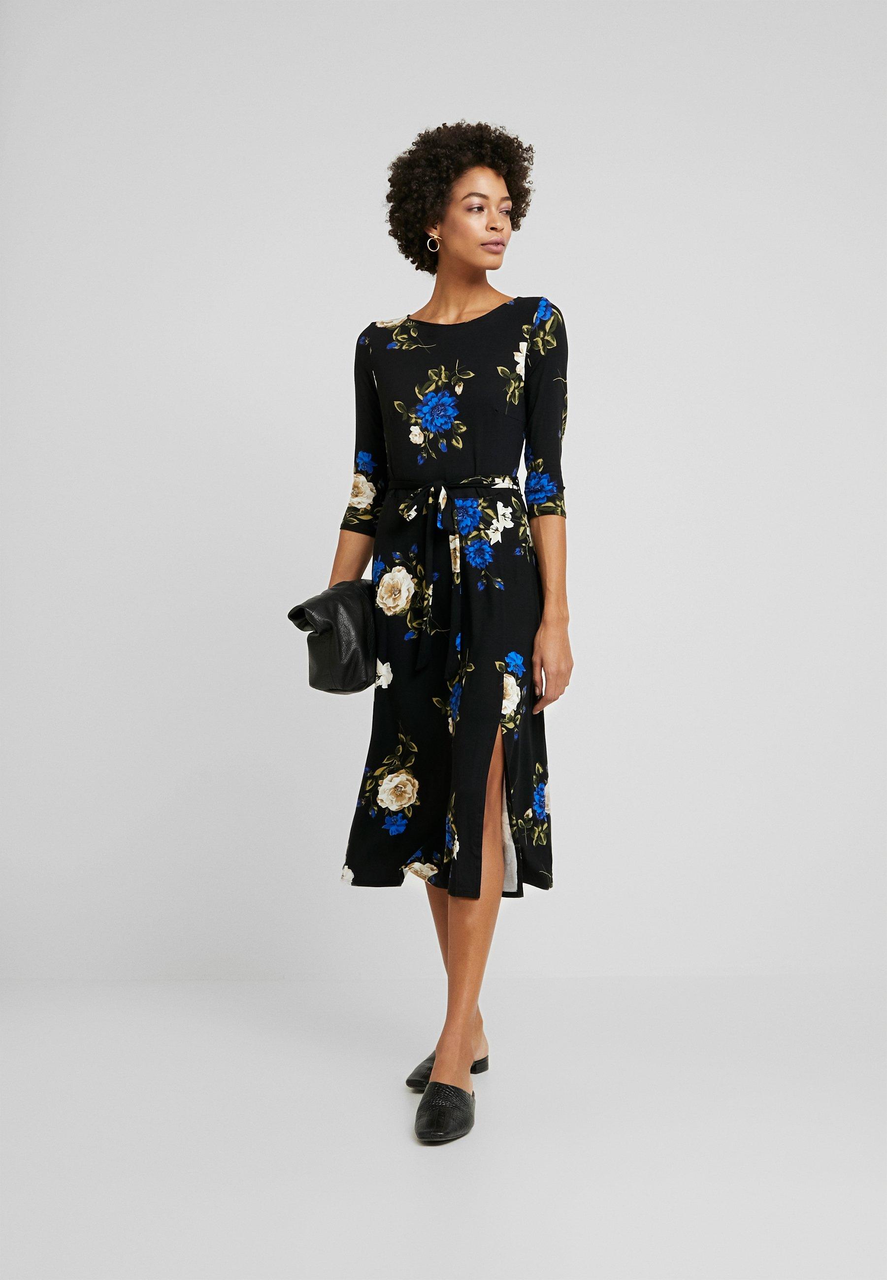 Wallis Rose Midi Dress - Robe En Jersey Blue