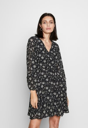 DITZY DOBBY FLORAL - Day dress - black
