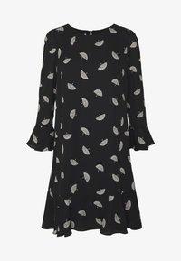 Wallis - FLUTE SLEEVE SHIFT DRESS - Kjole - black - 4
