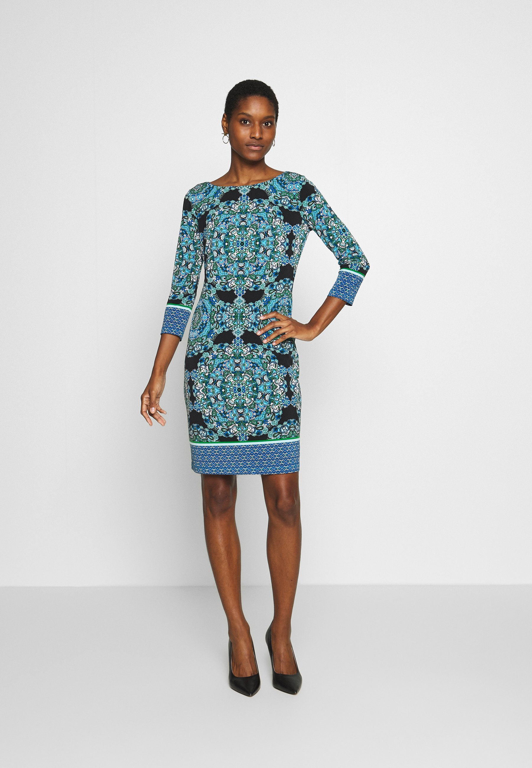 Wallis PAISLEY TUNIC - Sukienka letnia - blue