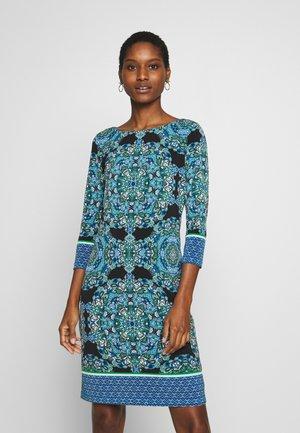 PAISLEY TUNIC - Robe d'été - blue