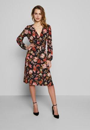ORIENTAL TAPESTRY DRESS - Jerseykjole - black