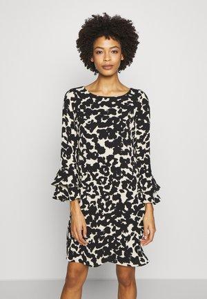 DOUBLE FLUTE DRESS - Robe d'été - black