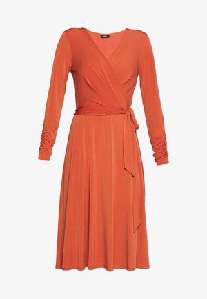 WRAP DRESS - Robe en jersey - red
