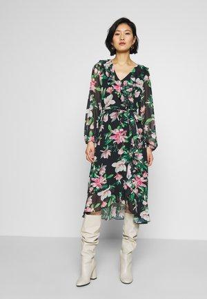 SPRING ORIENTAL DRESS - Kjole - black