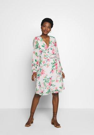 SPRING ORIENTAL DRESS - Korte jurk - ivory