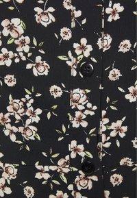 Wallis - BOUQUET DITSY SQUARE NECK DRESS - Kjole - black - 2