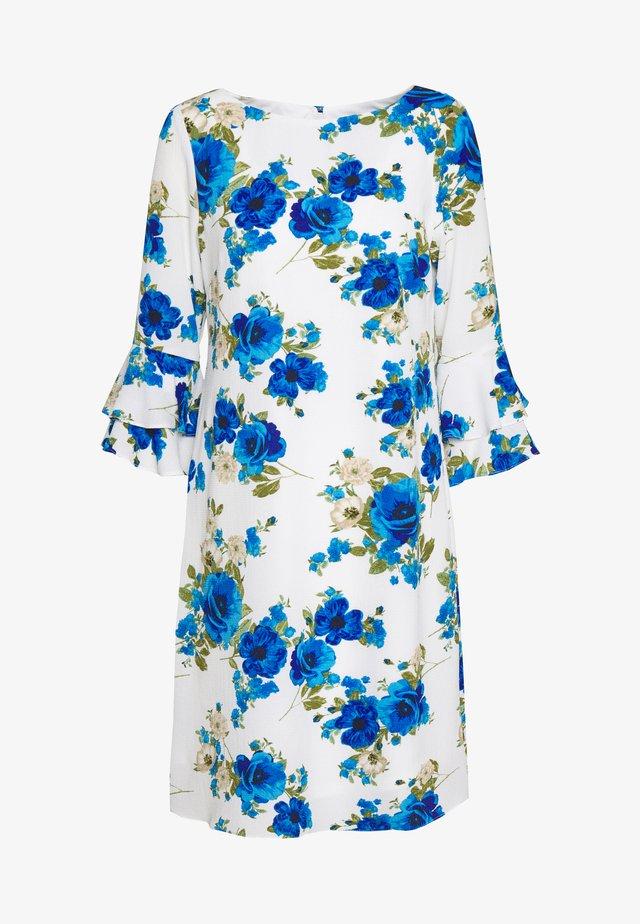 POPPY PUFF SLEEVE DRESS - Korte jurk - ivory