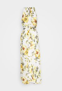 Wallis - GLORAL PLEATED DRESS - Maxi-jurk - ivory - 1