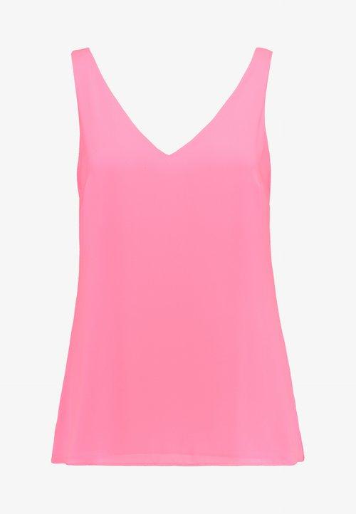 Wallis V NECK CAMI - Bluzka - neon pink Koszulki i Topy HHGW-LH2 w ofercie
