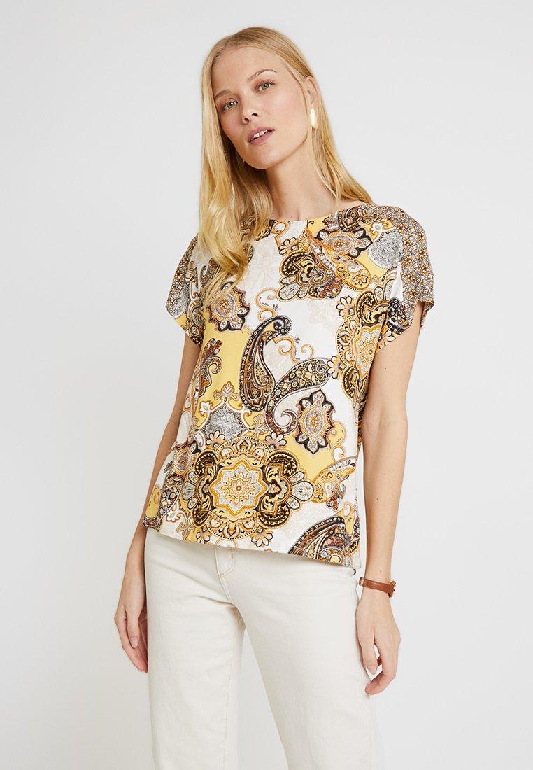 Wallis - DREAM SHELL - Camiseta estampada - mustard