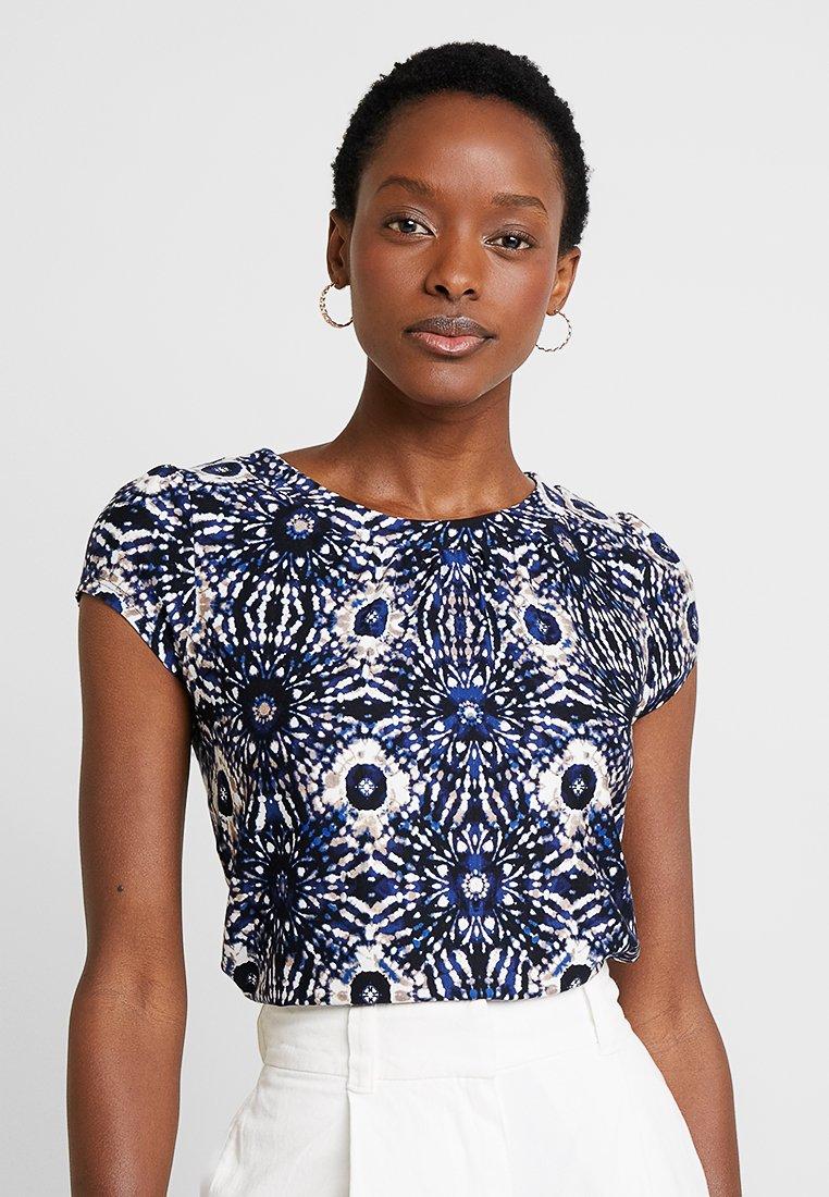 Wallis - MONO TYE DYE SHELL - T-Shirt print - blue