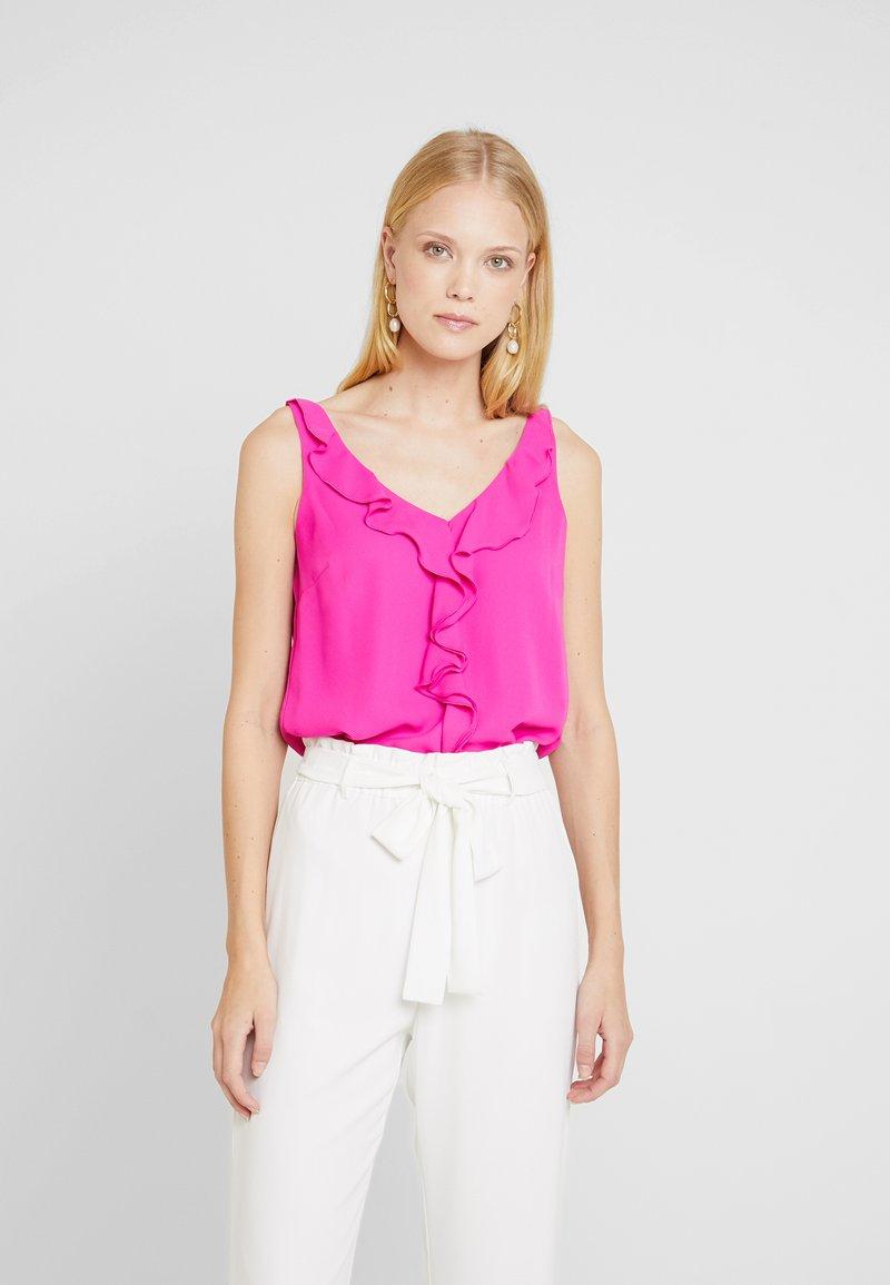 Wallis - RUFFLE CAMI - Bluse - pink