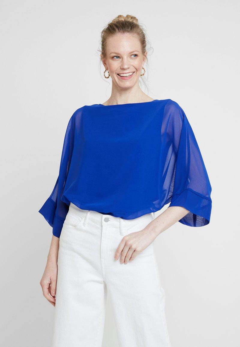 Wallis - OVERLAYER - Blouse - blue