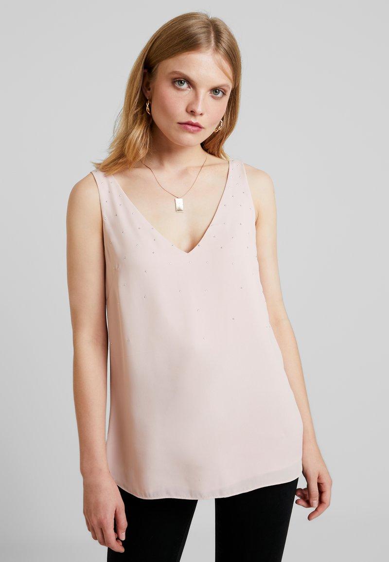 Wallis - HOTFIX CAMI - Bluse - blush