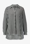 Wallis - Button-down blouse - black