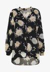 ORIENTAL - Button-down blouse - black