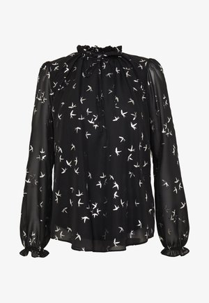 SILVER BIRD  - Blouse - black